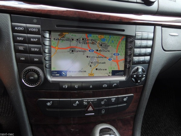 MERCEDES Comand APS W211 CLS W219 AGW GPS Navigation BE7039 Head-Unit